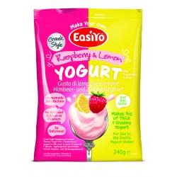 Řecký jogurt malinovo - citrónový